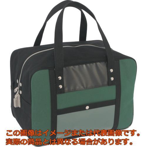 SANEI 帆布メール用ボストンMマチ広 SED-1錠付 モスグリーン BTMDESED07