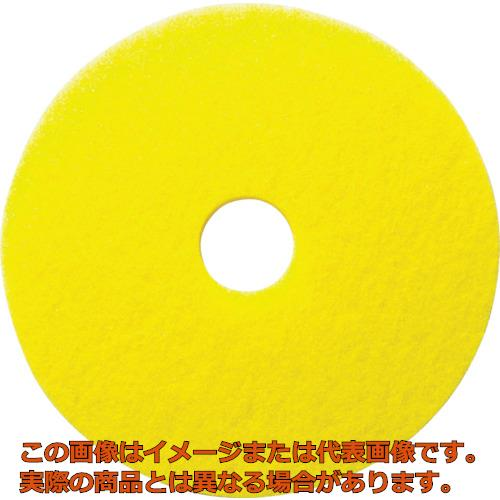 ケルヒャー 床洗浄用イエローディスクパッド 表面磨き用 432mm 5枚入り 95481160