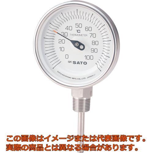 佐藤  バイメタル温度計BMーS型 BMS90S1