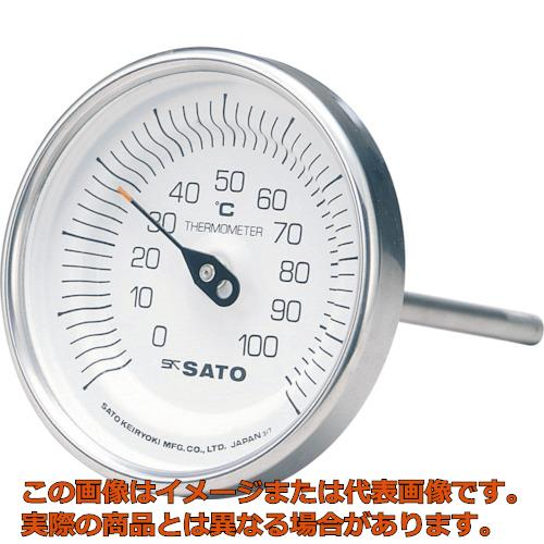 送料無料 新品 業務用 オレンジブック掲載商品 佐藤 35%OFF バイメタル温度計BM-T型 BMT90S7