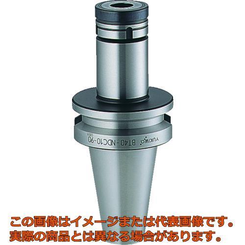 ユキワ ニュードリルミルチャック 把握径0.5~10mm 首下長60mm BT40NDC1060