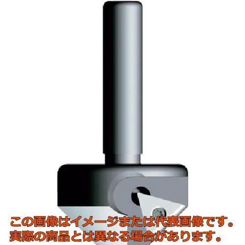 富士元 ボール盤用面取り メントルビー 45° φ38 BM4538T