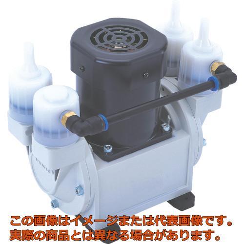 ULVAC 単相100V ダイアフラム型ドライ真空ポンプ 排気速度24/30 DA30S