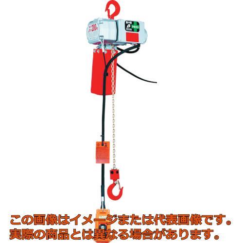 象印 ベータ型小型電気チェンブロック 定格荷重200KG 揚程6M BSK2060
