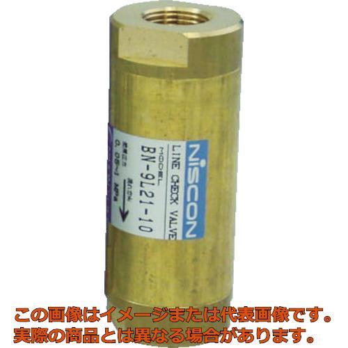 日本精器 ラインチェック弁 10A BN9L2110