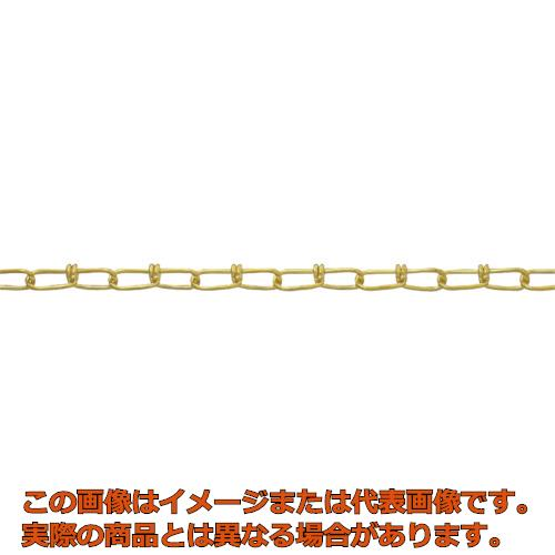 ニッサチェイン 真鍮キリンスビクターチェイン 2.0mm×30m BV20