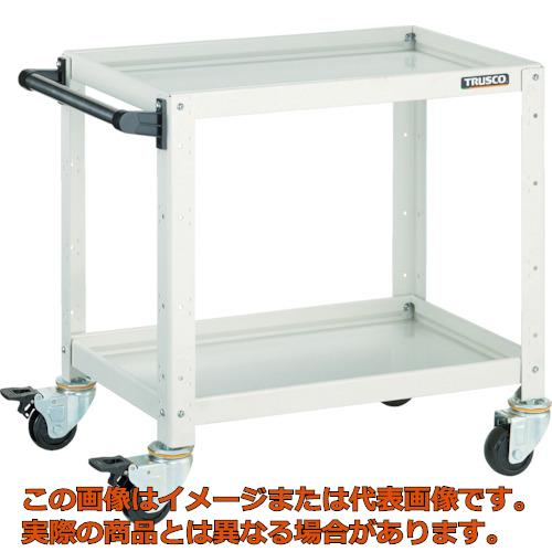 TRUSCO バーディワゴン 600X400XH600 2段 YG色 BDW662YG