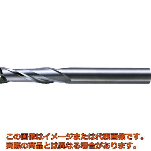 三菱K 2枚刃超硬エンドミル(セミロング刃長) ノンコート 20mm C2JSD2000
