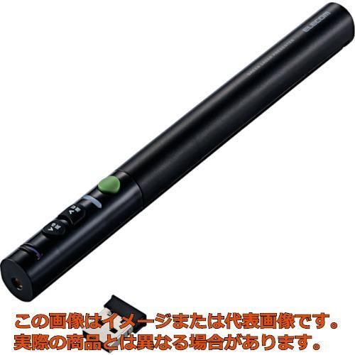 エレコム 緑色レーザープレゼンター ペンタイプ ブラック ELPGL10PBK