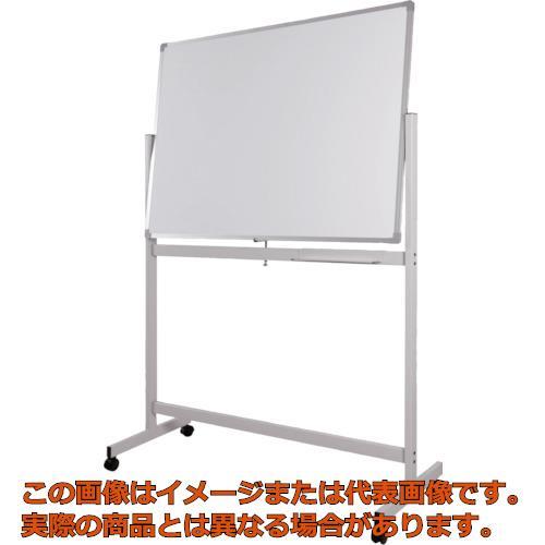 【配達日・配達時間帯指定不可】WRITEBEST 回転ボード両面 白×白 900×1800 DPS36