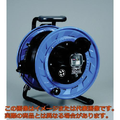 ハタヤ 三相200V屋外用コードリール 30m 3.5mm ブレーカー付 BFS332M