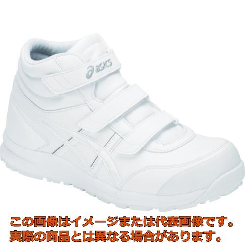 アシックス ウィンジョブ CP302 ホワイト/ホワイト 25.5cm FCP302.10025.5