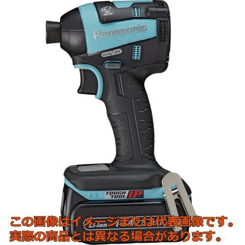 Panasonic デュアル 充電インパクトドライバー青 14.4V5.0Ahセット EZ75A7LJ2FA