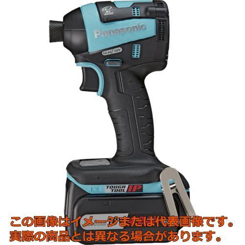 Panasonic デュアル 充電インパクトドライバー青 18V4.2Ahセット EZ75A7LS2GA