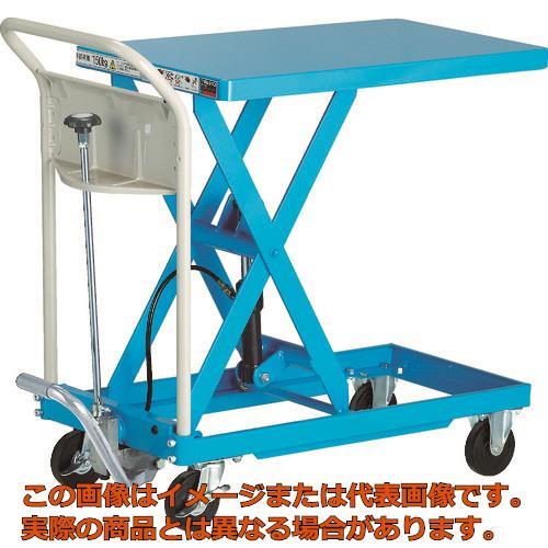 TRUSCO ハンドリフター 150kg 400X720 ブルー HLFAS150B