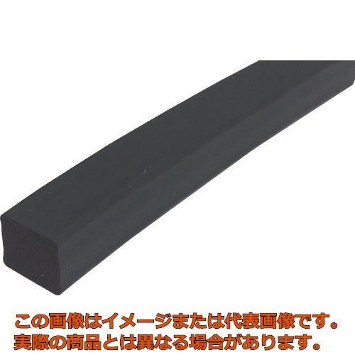 【配送日時指定不可】TRUSCO フッ素ゴムスポンジ 角紐 10X10 3M FKM10X103M