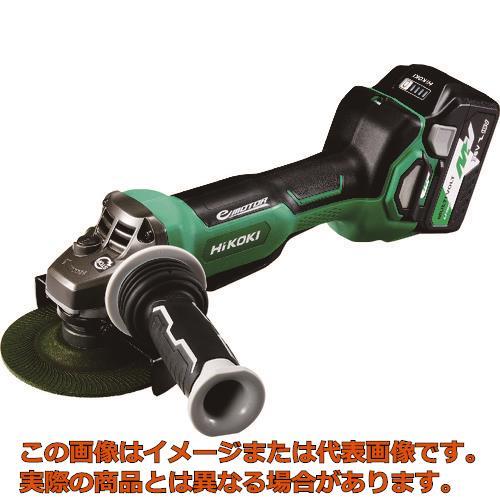 HiKOKI 36Vコードレスディスクグラインダ125mm ブレーキ・パドルスイッチ 新マルチボルト G3613DBXP