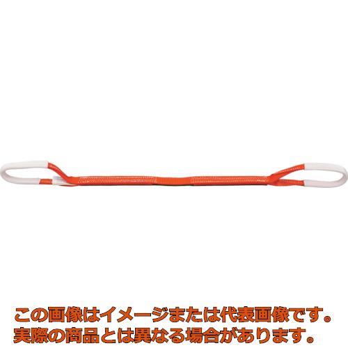 業務用 正規認証品!新規格 アウトレット オレンジブック掲載商品 TRUSCO ベルトスリング 35mmX1.0m G3510 JIS3等級 両端アイ形