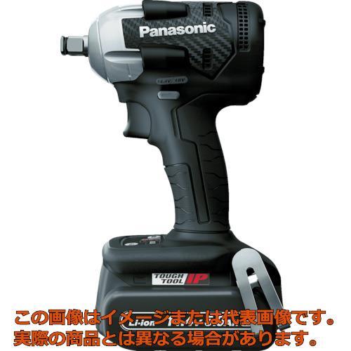 業務用 オレンジブック掲載商品 ふるさと割 Panasonic デュアル 黒 充電インパクトレンチ EZ75A8LJ2FB 品質検査済 14.4V5.0Ahセット
