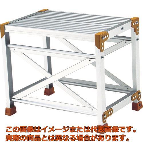 【代引き不可・配送日時指定不可】 ピカ 作業台FG型 1段 W60 H50cm FG165D