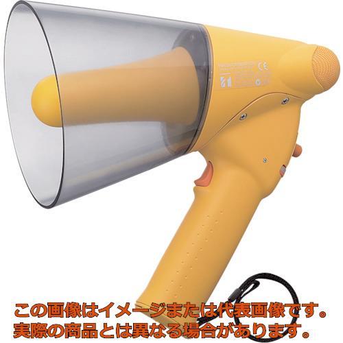 TOA 小型ハンド型メガホン ホイッスル音付き ER1106W