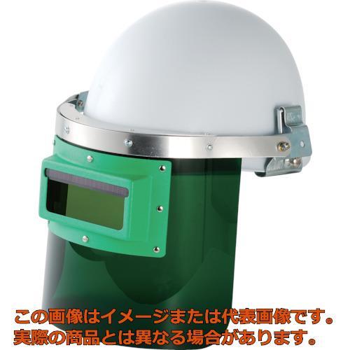 リケン 自動遮光溶接面 防災面型(ヘルメット取付タイプ) GMHS2
