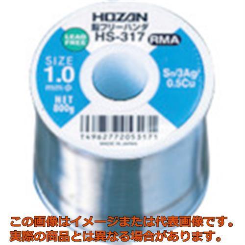 HOZAN 鉛フリーハンダ 1.0mm/800g HS317