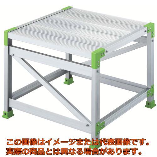 【代引き不可・配送日時指定不可】 ハセガワ エコシリーズ作業台 1段 0.5m EWA10