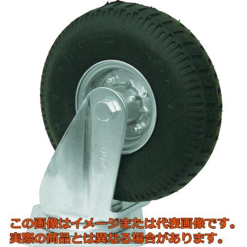 ヨドノ ノーパンク発泡ゴムタイヤ自在車付 HALWJ350X5