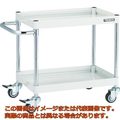 TRUSCO ファルコンワゴン900X600 ウレタン車輪 YG色 FAW692UYG