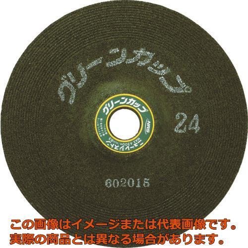 NRS グリーンカップ 180×6×22 ♯36 GCP180636 25枚