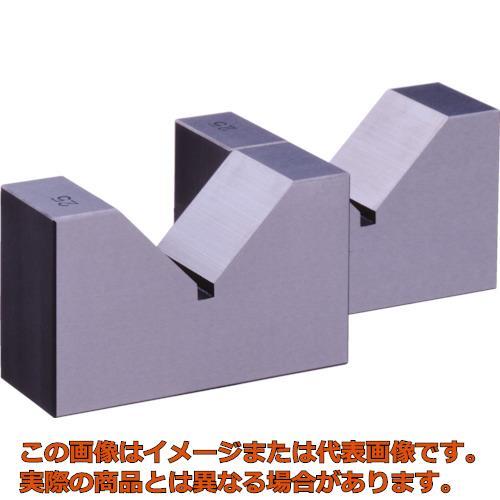 ユニ 焼入Vブロック 125mm HV125