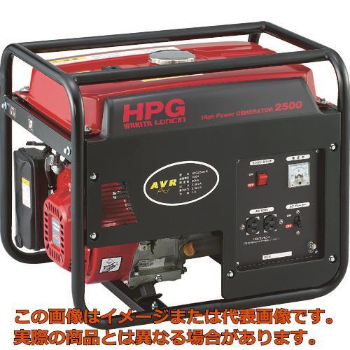 MEIHO エンジン発電機 HPG-2500 60Hz HPG250060