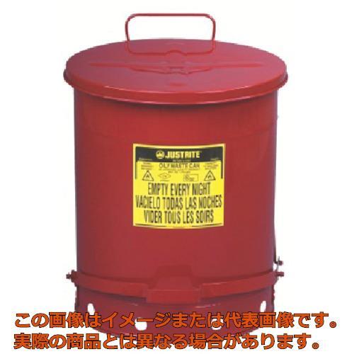 【配送日時指定不可】ジャストライト オイリーウエスト缶 14ガロン J09500
