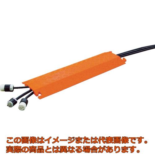 CHECKERS ファーストレーン ケーブルプロテクター 軽量型 電線2本 FL2X1.75O