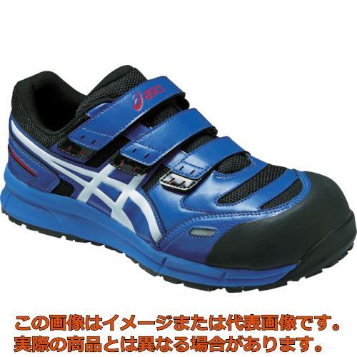 アシックス ウィンジョブCP102 ブルーXホワイト 23.0cm FCP102.420123.0