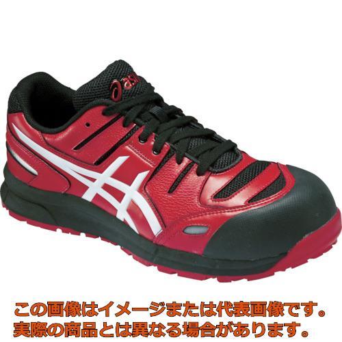 アシックス ウィンジョブCP103 レッドXホワイト 26.5cm FCP103.230126.5