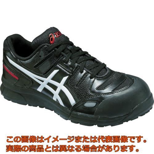 アシックス ウィンジョブCP103 ブラックXホワイト 24.0cm FCP103.900124.0