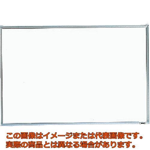 【代引き不可・配送時間指定不可】 TRUSCO スチール製ホワイトボード 無地 粉受付 900X1200 GH-112 (1200X900 ホワイト)