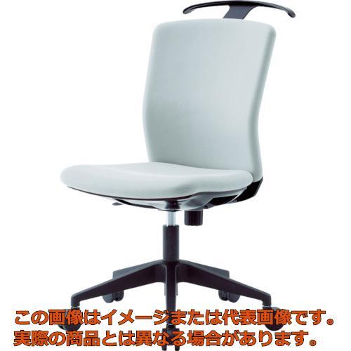 【代引き不可・配送時間指定不可】 アイリスチトセ ハンガー付回転椅子(フリーロッキング) グレー HG-X-CKR-46M0-F-GY
