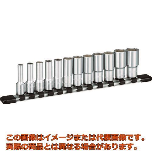TONE ディープソケットセット(6角・ホルダー付) 吋目 12pcs HSBL312