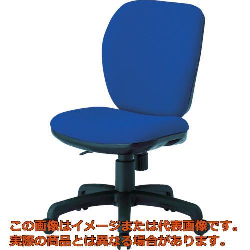 TOKIO オフィスチェア 肘なし ネイビー FST-77-NV