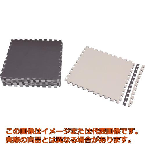 IRIS ジョイントマット 60×60 16枚 ブラウン/ベージュ JTMR-616-BR