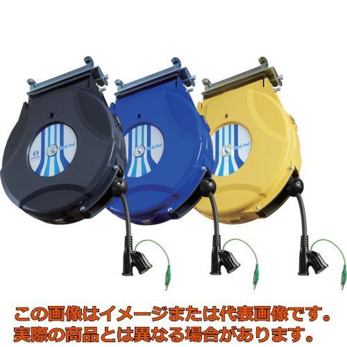 日平 コンセントリール 10m 黒 HEP810CBG