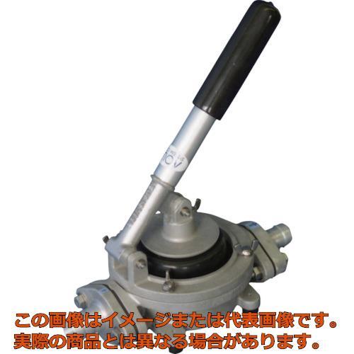 アクアシステム ハンドダイヤフラムポンプ オイル 水 泥水(移送・非常用) HDO20ALB