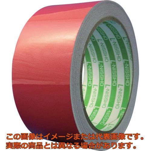日東エルマテ 再帰反射テープ 400mmX10m レッド HT400R