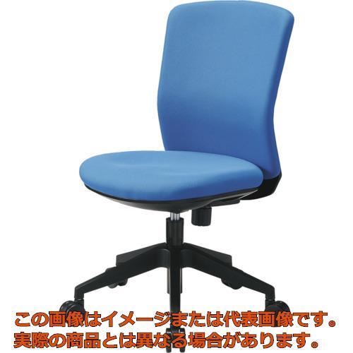 【代引き不可・配送時間指定不可】 アイリスチトセ 回転椅子 HG1000 本体 ブルー HG1000-M0-F-BL