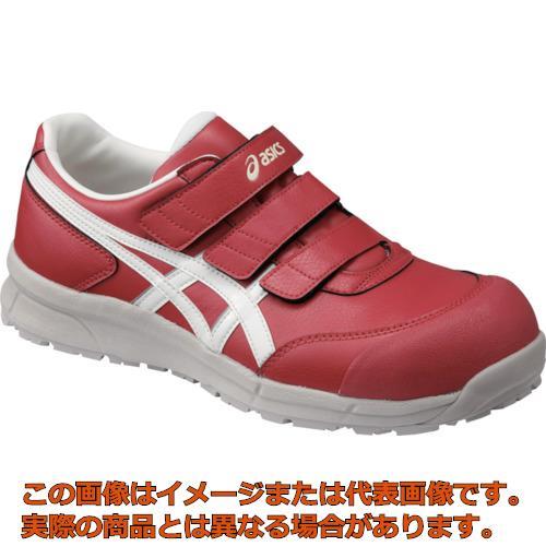 アシックス ウィンジョブ CP301 プライムレッド×ホワイト 23.0cm FCP301.230123.0