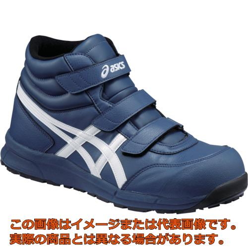 アシックス ウィンジョブ CP302 インシグニアブルー×ホワイト 27.5cm FCP302.500127.5