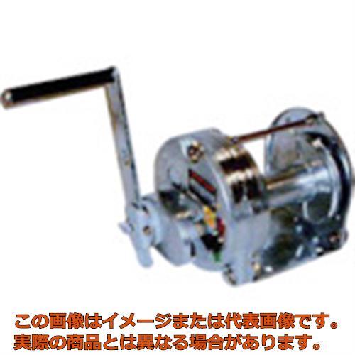 【配送日時指定不可】マックスプル 手動ウインチ(溶融亜鉛メッキ付き) GM3GS